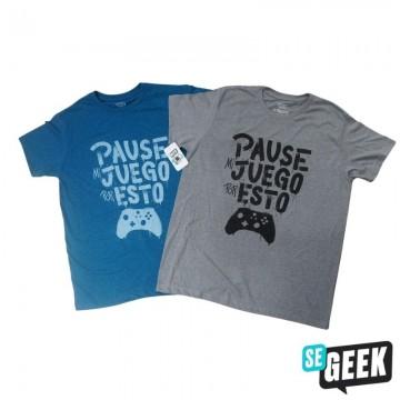 Playera SeGeek Gamer Unisex...